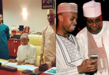 El-Rufai's sons and Atiku's son
