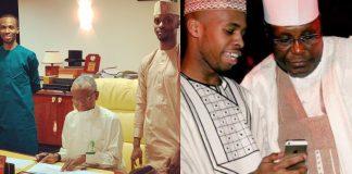 El-Rufai's sons and Atiku's son