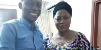 Tobi Makinde and Funke Akindele-Bello