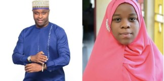 Femi Adebayo Salami and his daughter