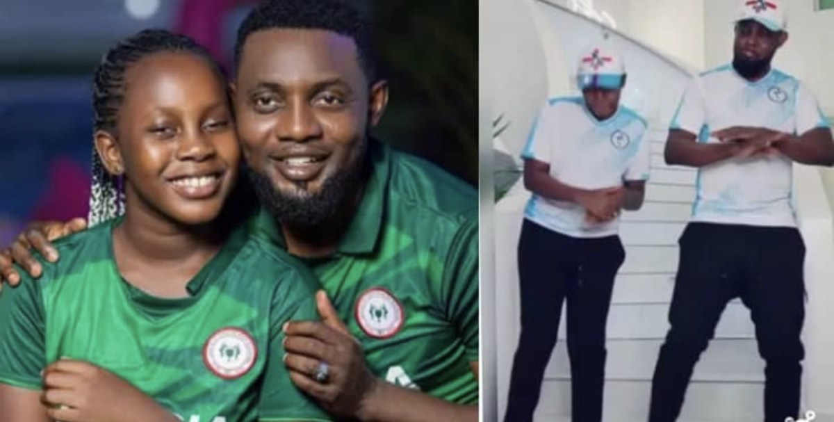 AY Makun, Daughter Show Off Dance Moves In Adorable Video