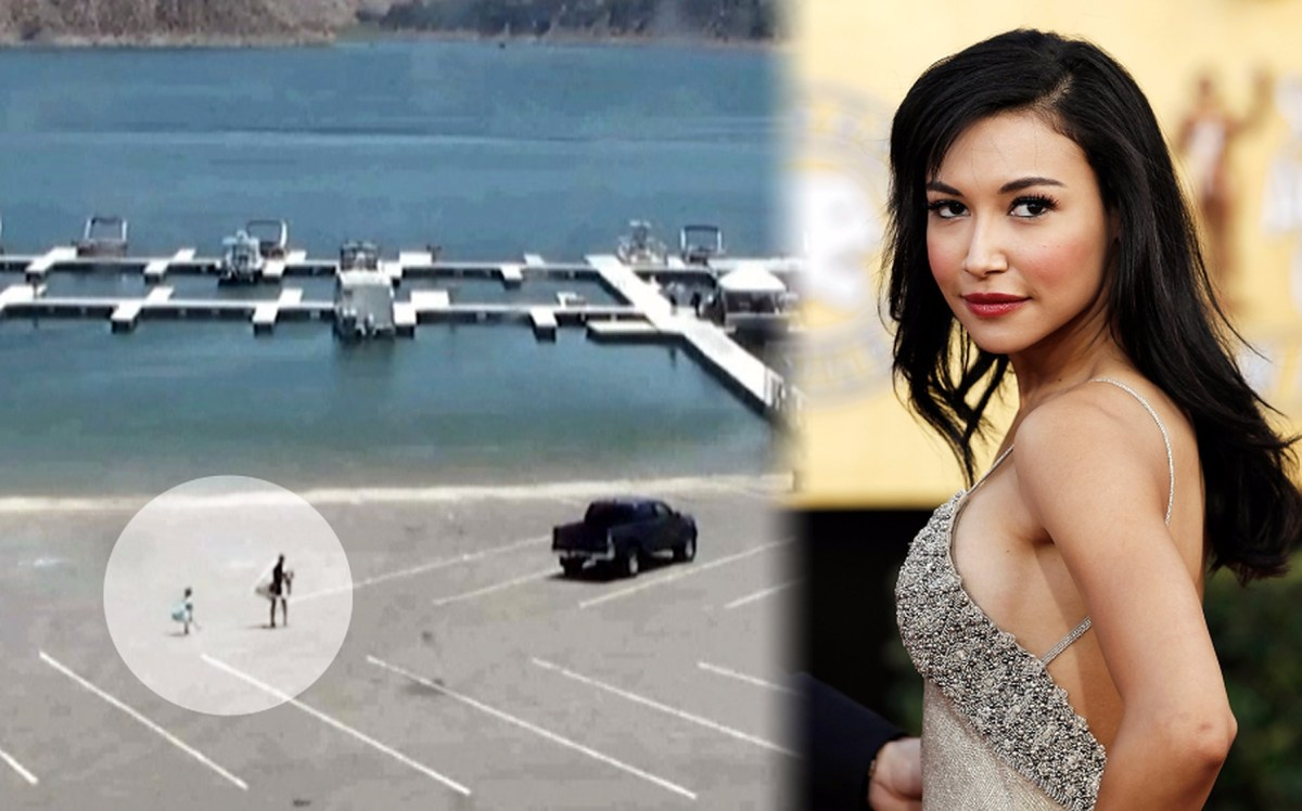 Police Release Video Of Glee Actress Naya Rivera, Son Arriving Lake (Video)