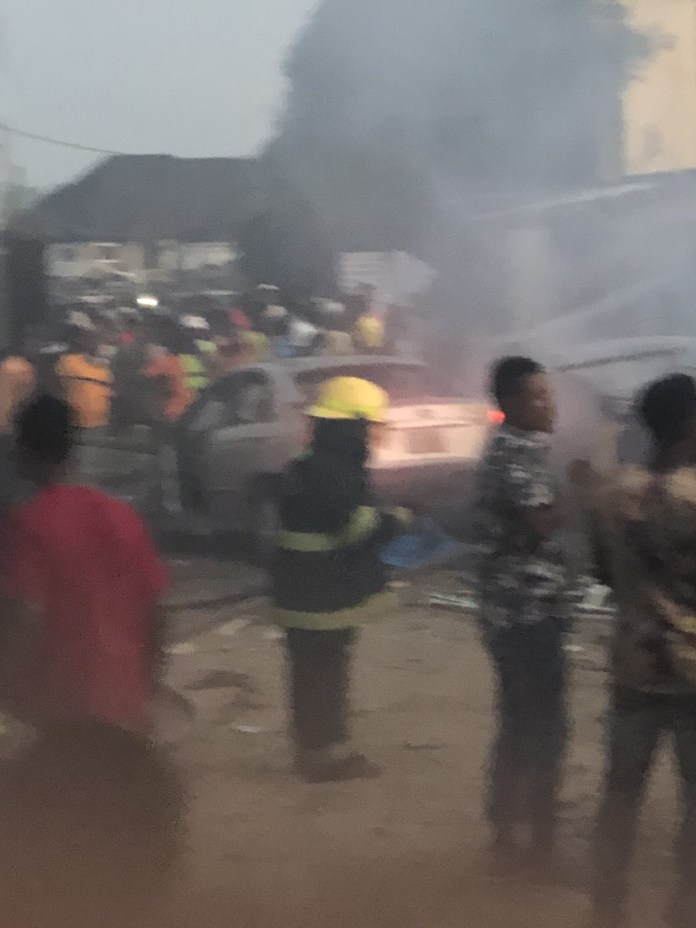 Gas Explosion at Ajao Estate