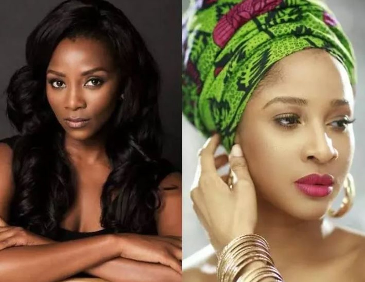 Outrage As Nigerians Compare Adesua Etomi To Genevieve Nnaji