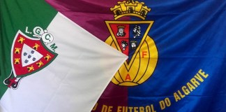Flag of Lusitano Ginásio Clube, Futebol, SAD