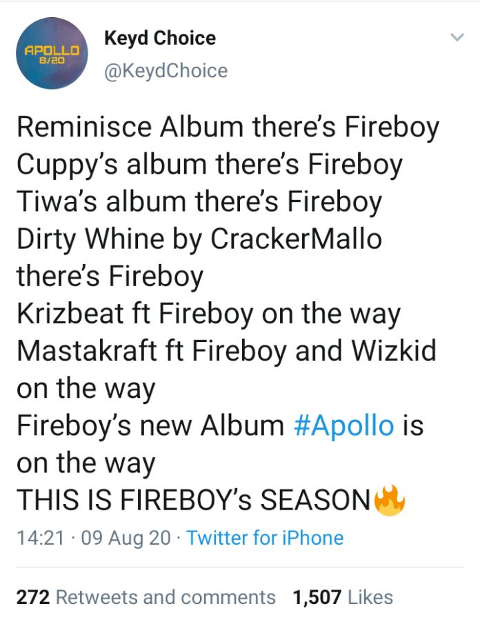 #Apollo