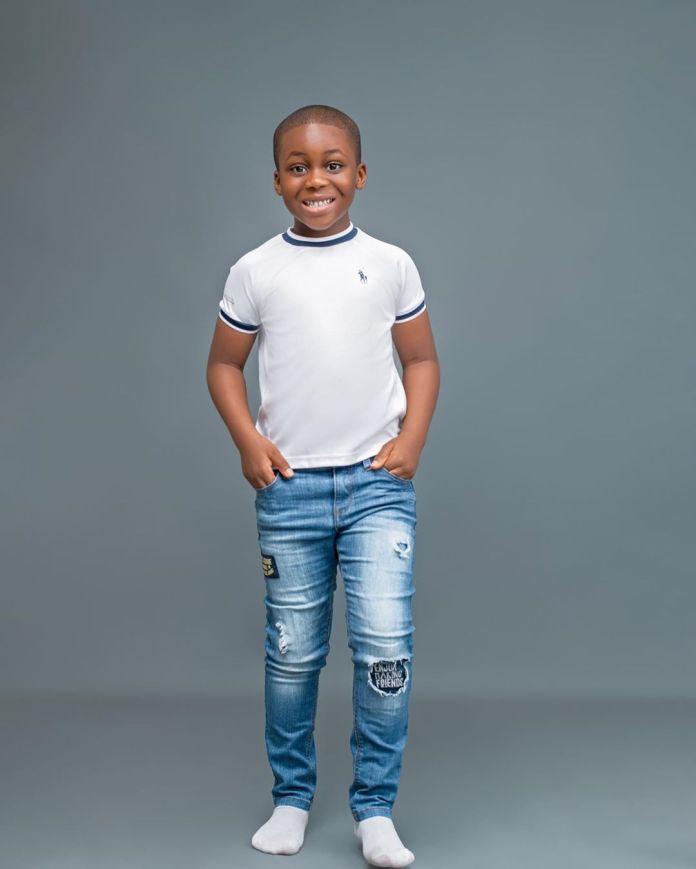 Damilola Adegbite's son, Brian Attoh