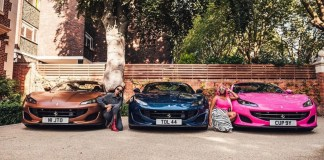 Otedola's daughters and their cars