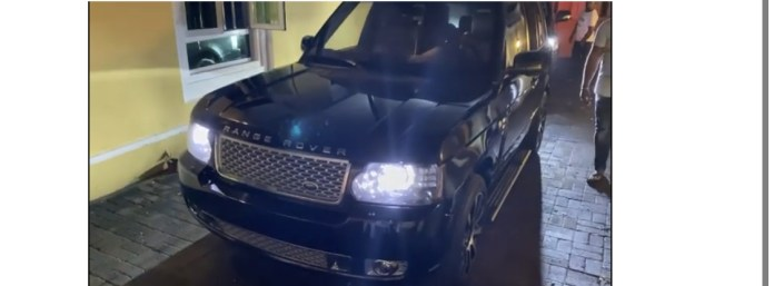 The Range Rover SUV