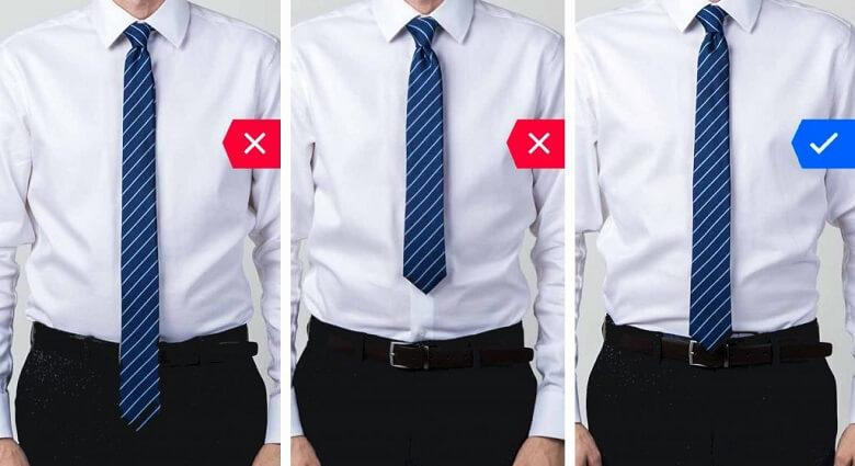 Useful Tips for the Proper Tie Length