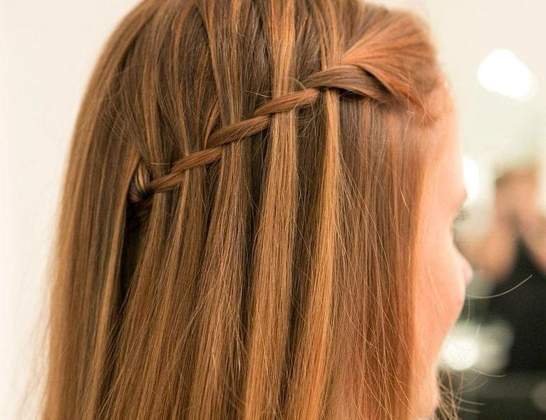 Waterfall Braids Hair Styles You Can Do at Your Home-min