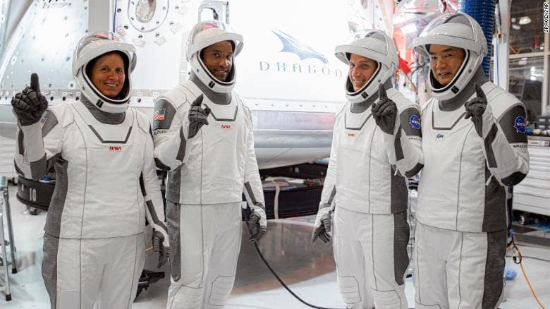 SpaceX Launch: 4 Astronauts Soared into Outer Space