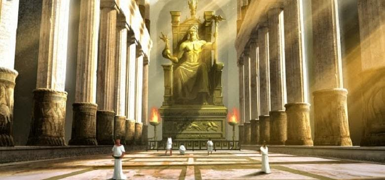 The Statue of Zeus at Olympia (Greece)