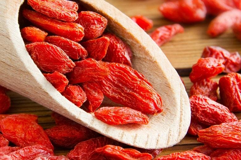 Goji Berries Fruits with High Protein
