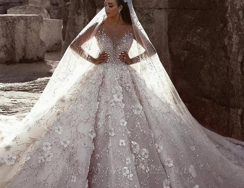 Ball Gown Wedding Dresses for Fairytale Wedding
