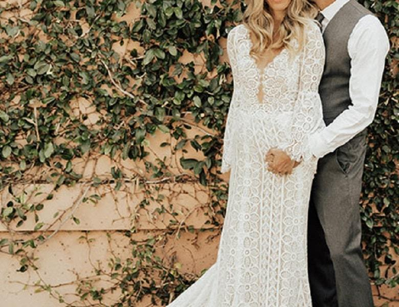 Most Beautiful And Lovely Summer Wedding Dresses