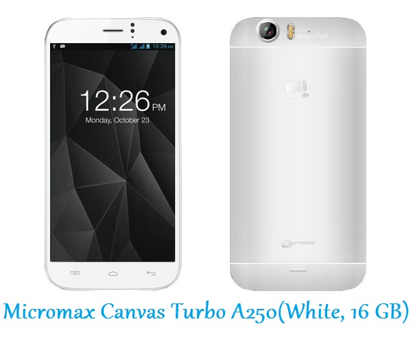 Micromax Canvas Turbo A250(White, 16 GB)