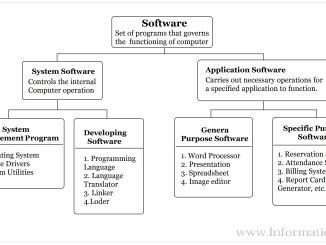 Computer Software - Types of Software