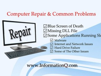 Computer Repair and Common Problems.