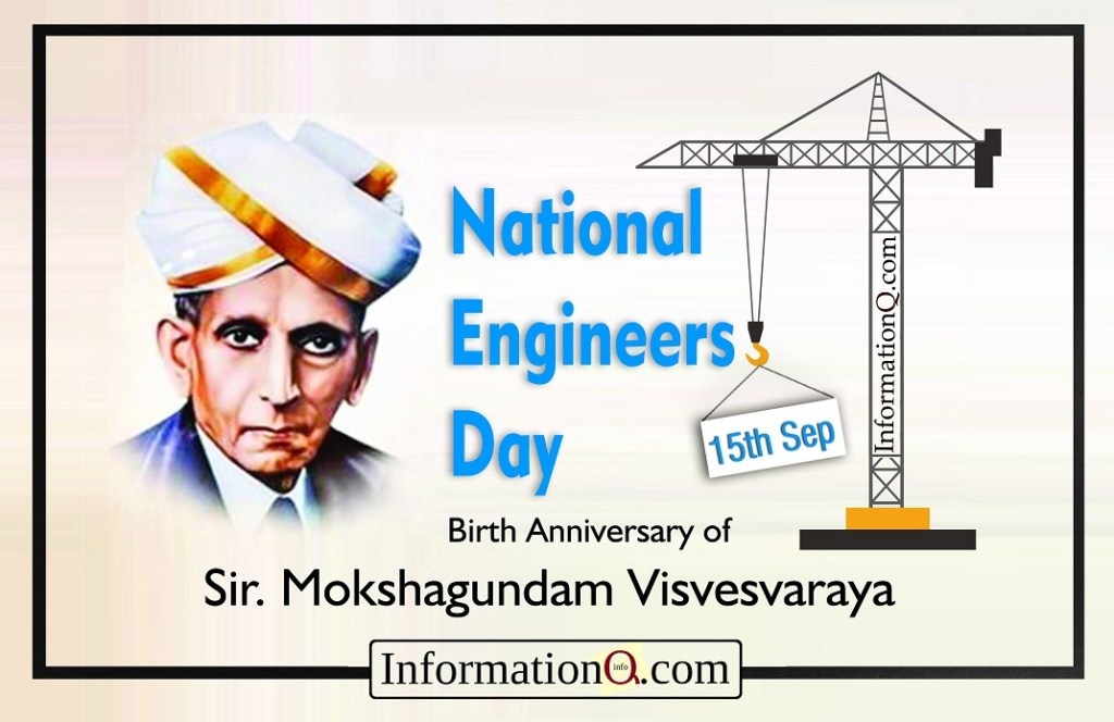 National Engineers Day - 15th Sep