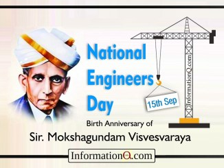 National Engineers Day - Sep 15th
