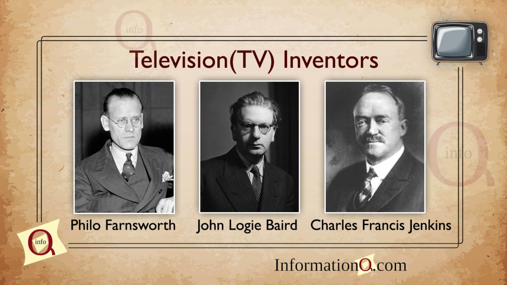 Later, the first Electronic television was invented after the efforts made by these inventors.