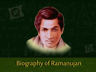 Biography of Srinivasa Ramanujan