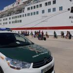 Efectivos de la UME evitan una agresión sexual una pasajera del barco Valencia-Palma