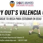 El Valencia presenta, junto con Sports Unlimited, 'I try out Valencia'