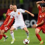 1-2. España vence con apuros sin Silva en el campo