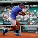 Nadal apaliza a Basilashvili en Roland Garros