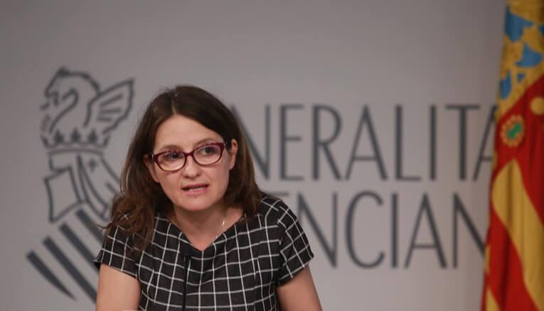 Mónica Oltra, Vicepresidenta del Consell de la Generalitat Valenciana y consellera de Igualdad y Políticas Inclusivas .