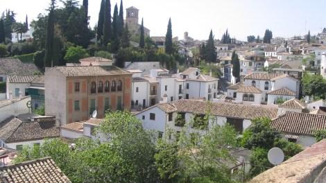 Barrio del Albaicín. Granada