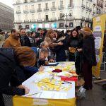 Espectacular acogida de Madrid a la asociación 'Hablamos Español'