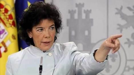 Isabel Celaá, ministra de Educación/archivo