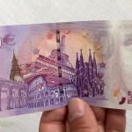 BILLETES DE CERO EUROS (Y NO ES BROMA)