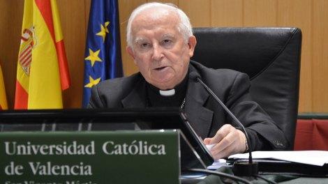 Cadenal Arzobispo Antonio Cañizares, Gran Canciller de la UCV/Arch.