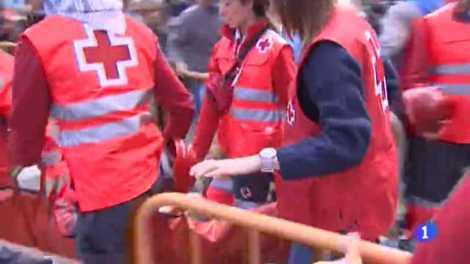 Imagen de archivo de personal de Cruz Roja - Img informaValencia.com