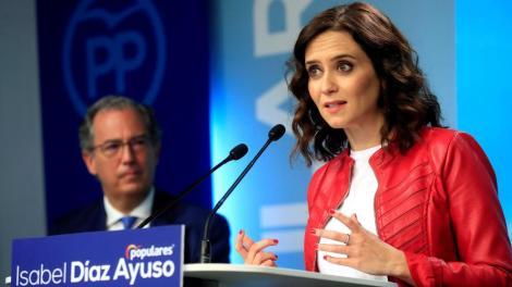 Isabel Díaz Ayuso,,presidenta de la Comunidad de Madrid/archivo