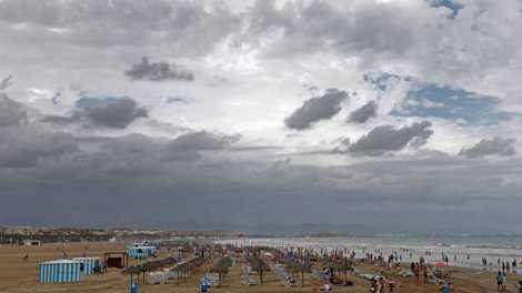 Aemet prevé una DANA sobre el área de Valencia para el domingo/Rtve