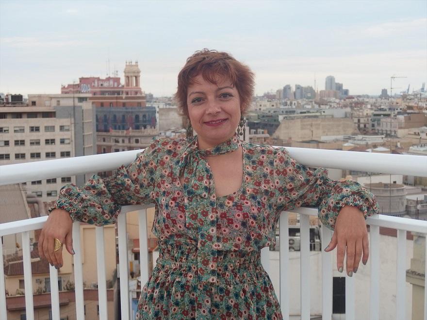 En la imagen, Ruth Sancho, ganadora del Certamen de Poesía con su obra 'Ausencia'./Img. Ateneo