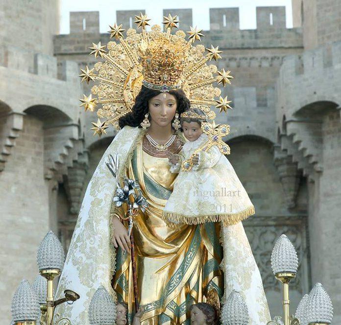 Imagen peregrina de la Virgen de los Desamparados/Img. informaValencia.com