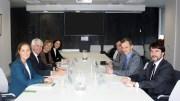 Reunión con el ministro Duque de Aseica y Aecc