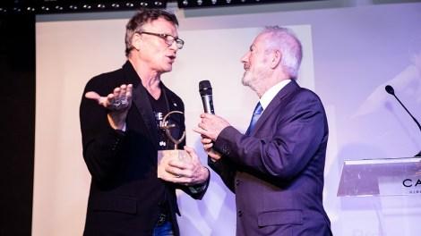 Nacho Duato recoge el Premio Extraordinario de la Fundación Politécnica/Img. informaValencia.com