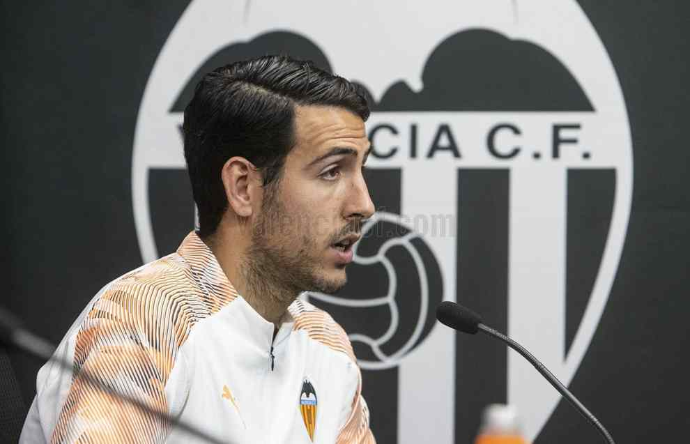Dani Parejo en la previa de Champions ante el Chelsea/Img VCF