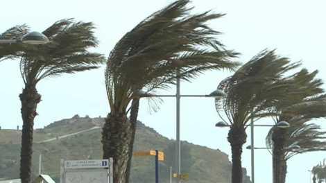 Avis naranja de Aemet por fuertes vientos en el litoral valenciano/Img Rtve