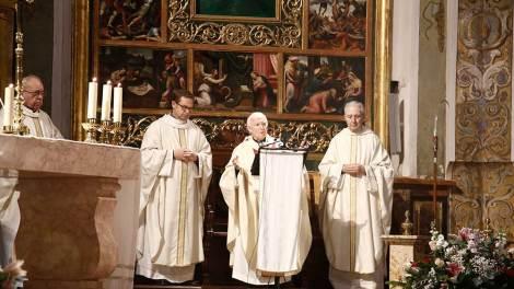 El cardenal durante su intervención en San Nicolás/Img. Javier Peiró