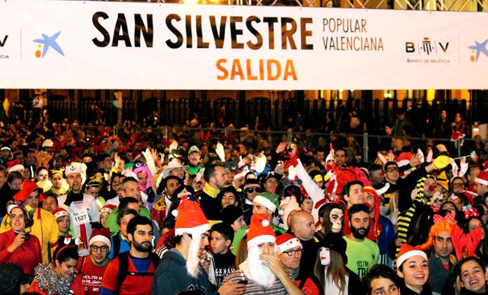 Carrera de San Silvestre en Valencia/iV.com