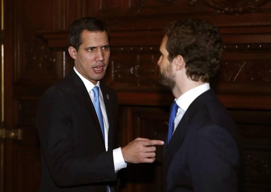 Juan Guaidó Pablo Casado/EC