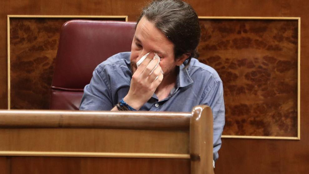 Pablo Iglesias, Congreso./archivo